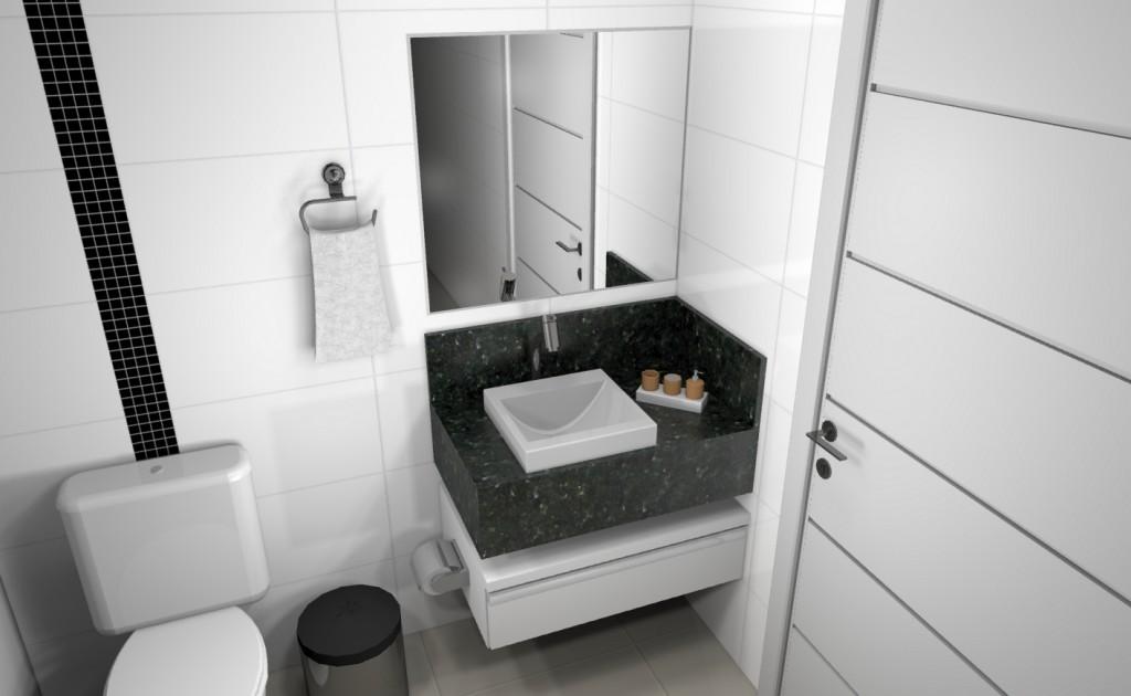 Banheiro planejado 100