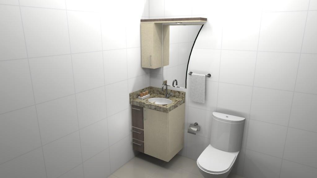 Banheiro planejado 102