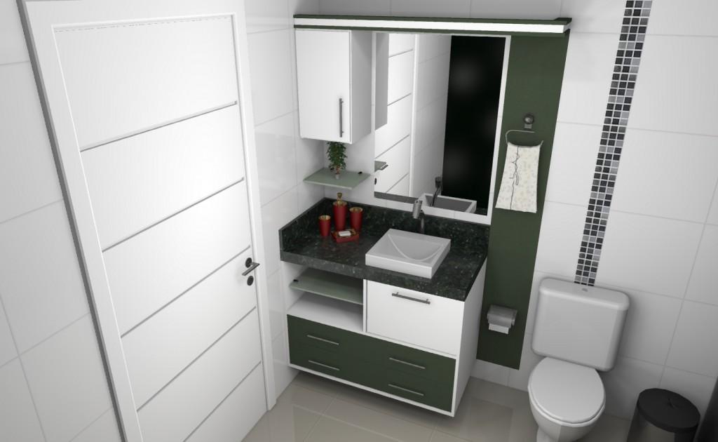 Banheiro planejado 104