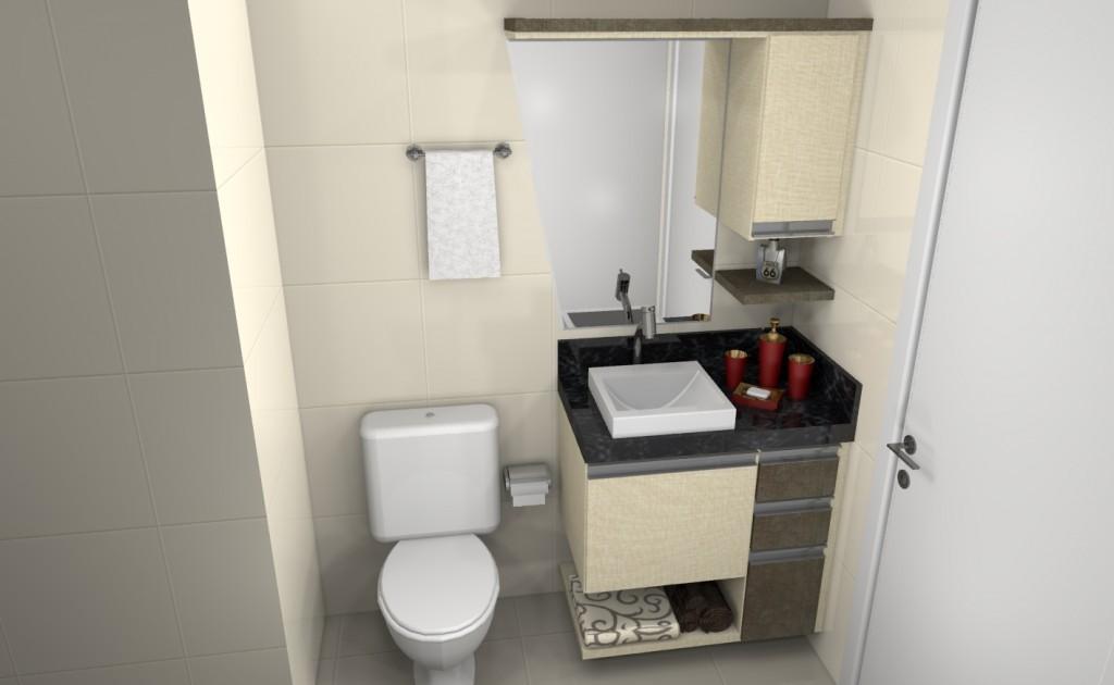 Banheiro planejado 105
