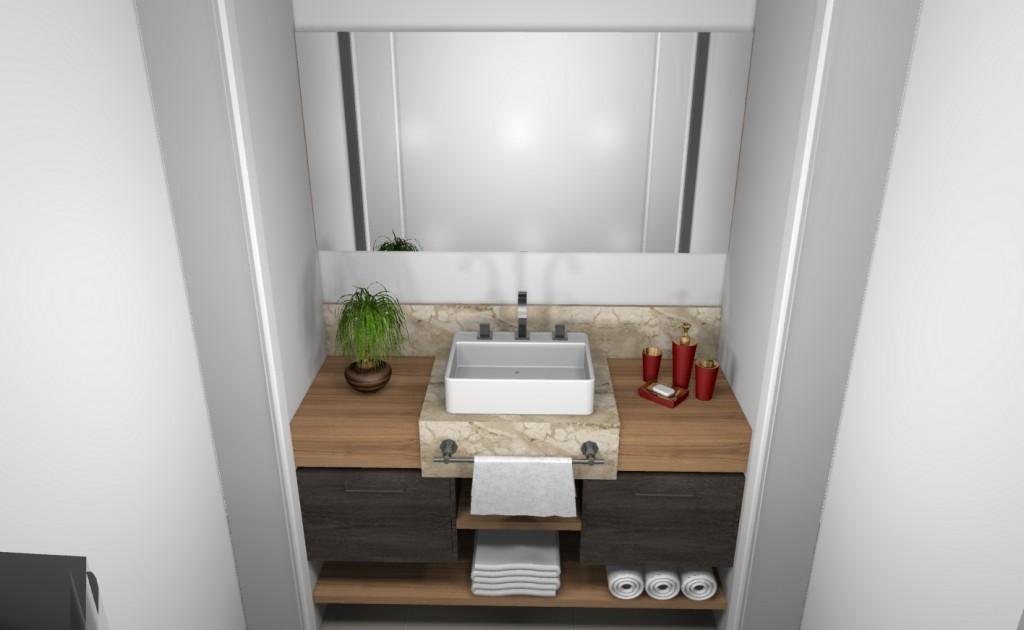 Banheiro planejado 106