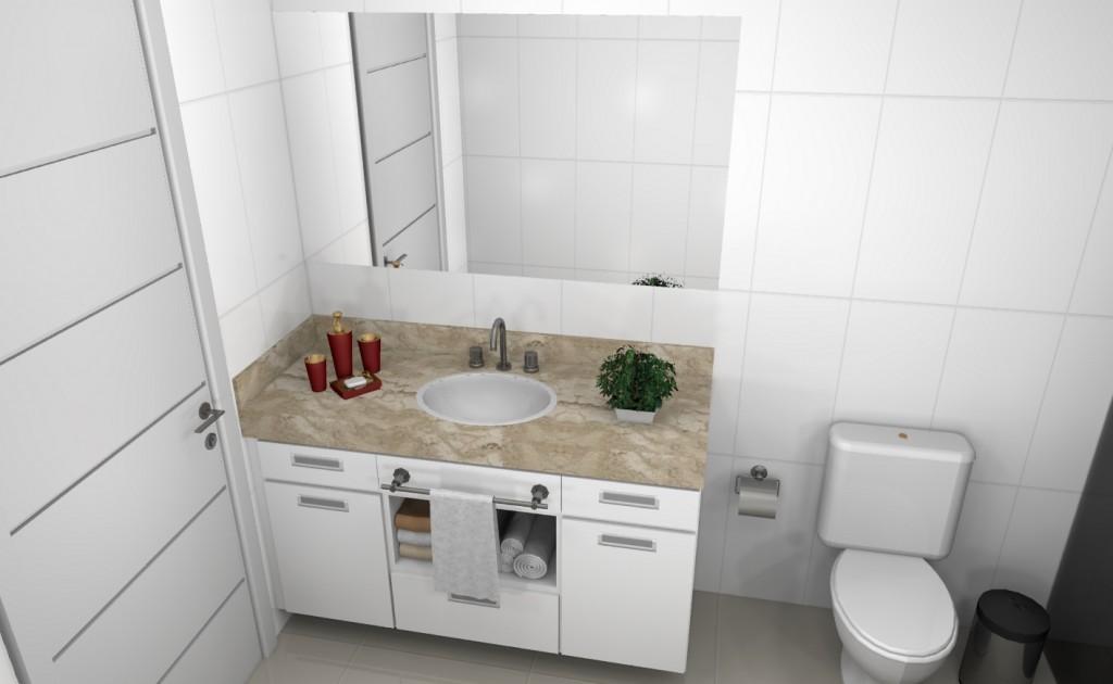 Banheiro planejado 107