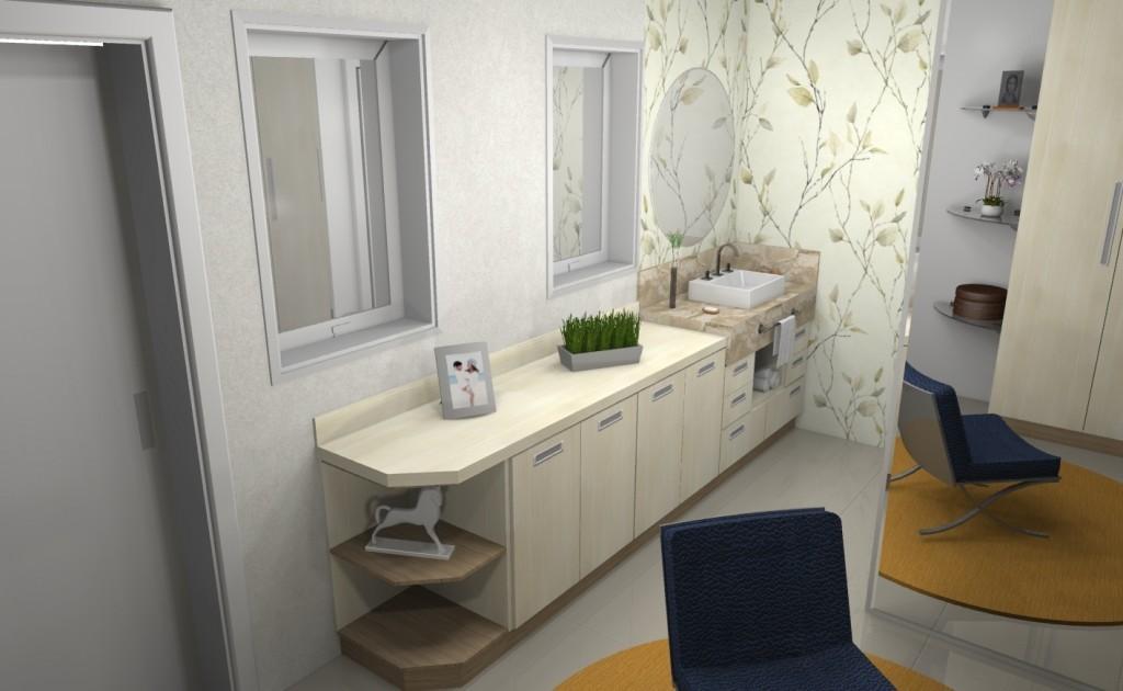 Banheiro planejado 108