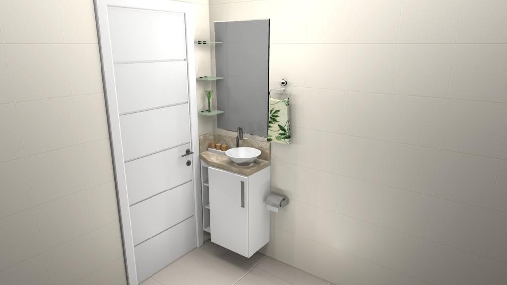 Banheiro planejado 109