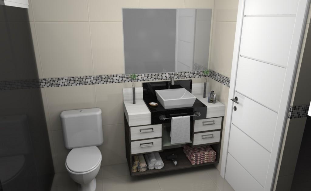 Banheiro planejado 112