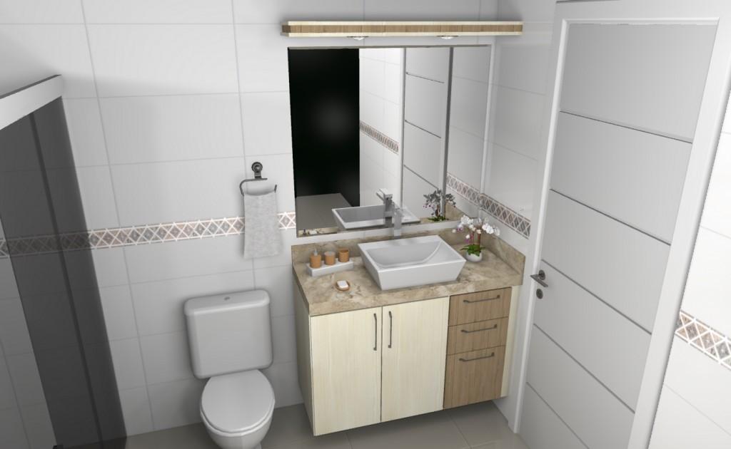 Banheiro planejado 113