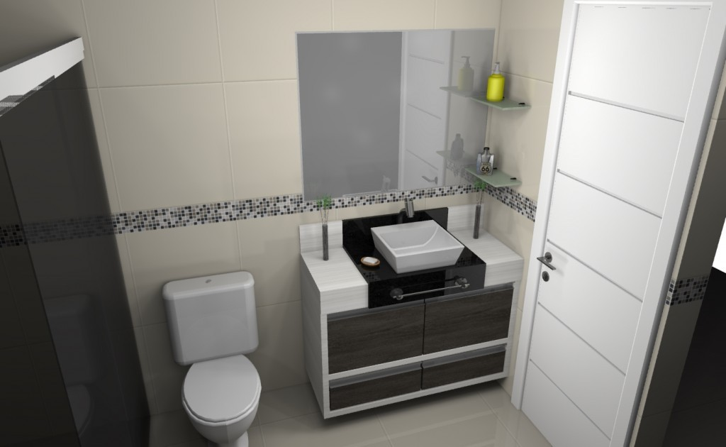Banheiro planejado 114
