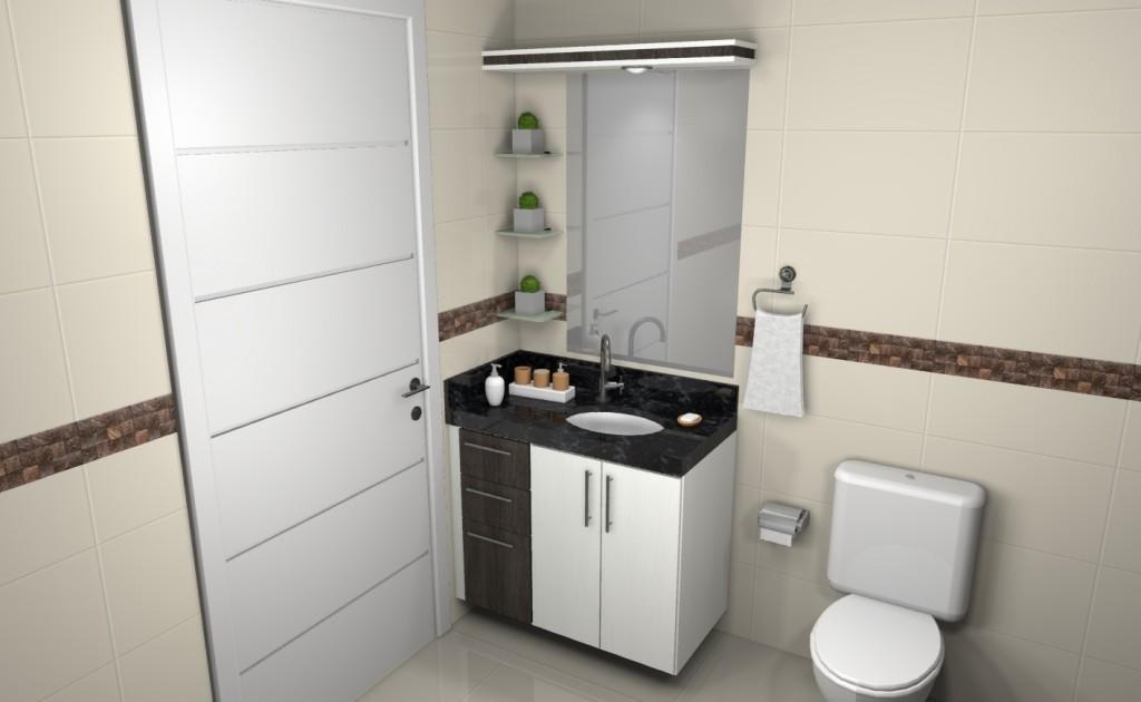 Banheiro planejado 115
