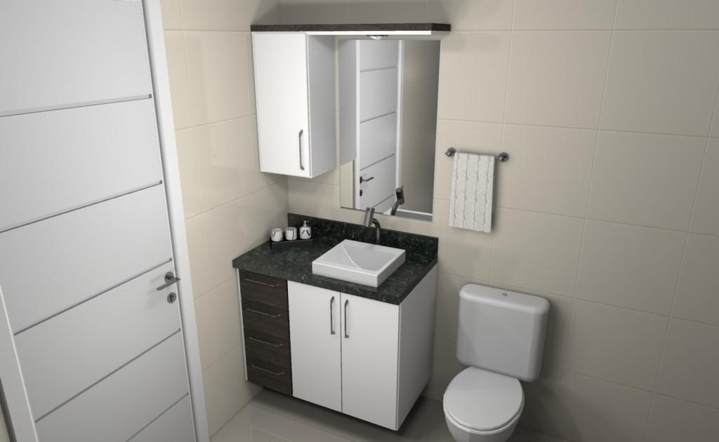 Banheiro planejado 116