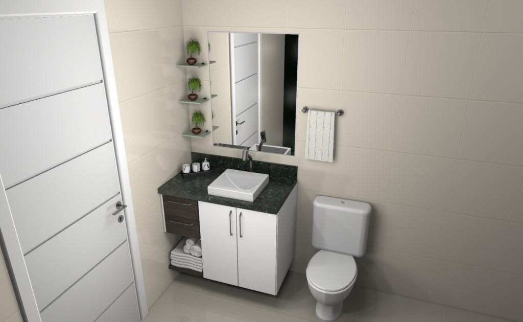 Banheiro planejado 117