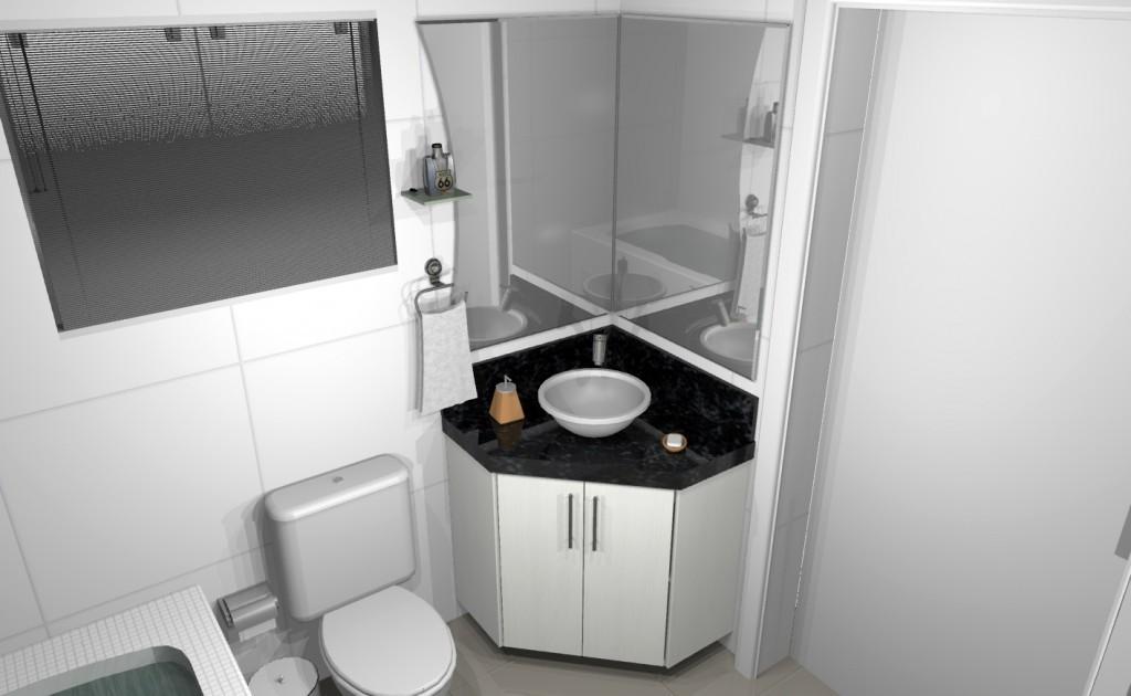 Banheiro planejado 118