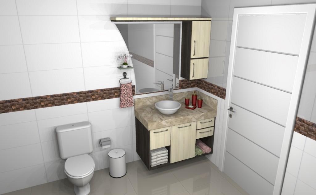 Banheiro planejado 119