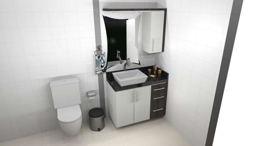 Banheiro planejado 122