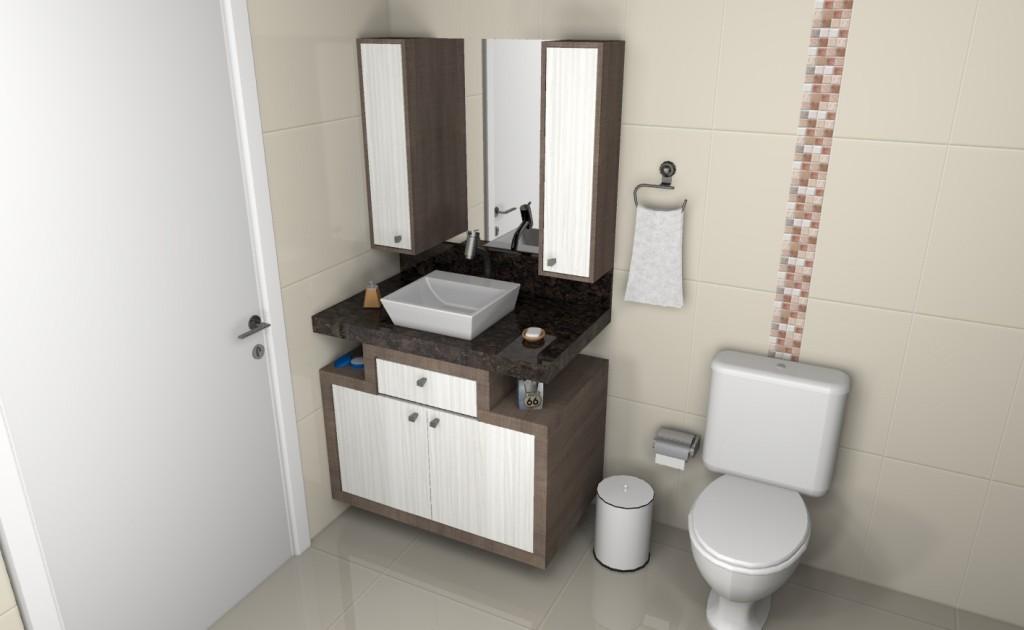 Banheiro planejado 123