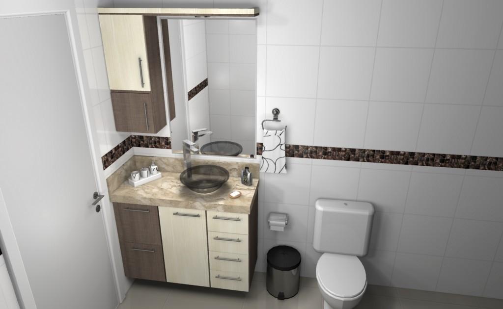 Banheiro planejado 124