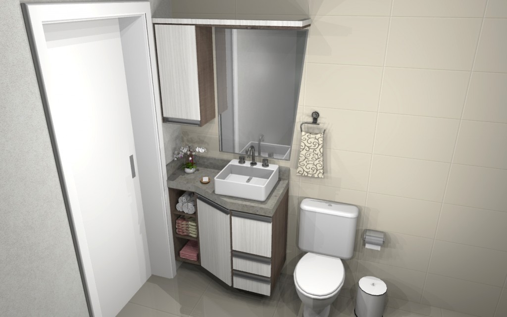 Banheiro planejado 125