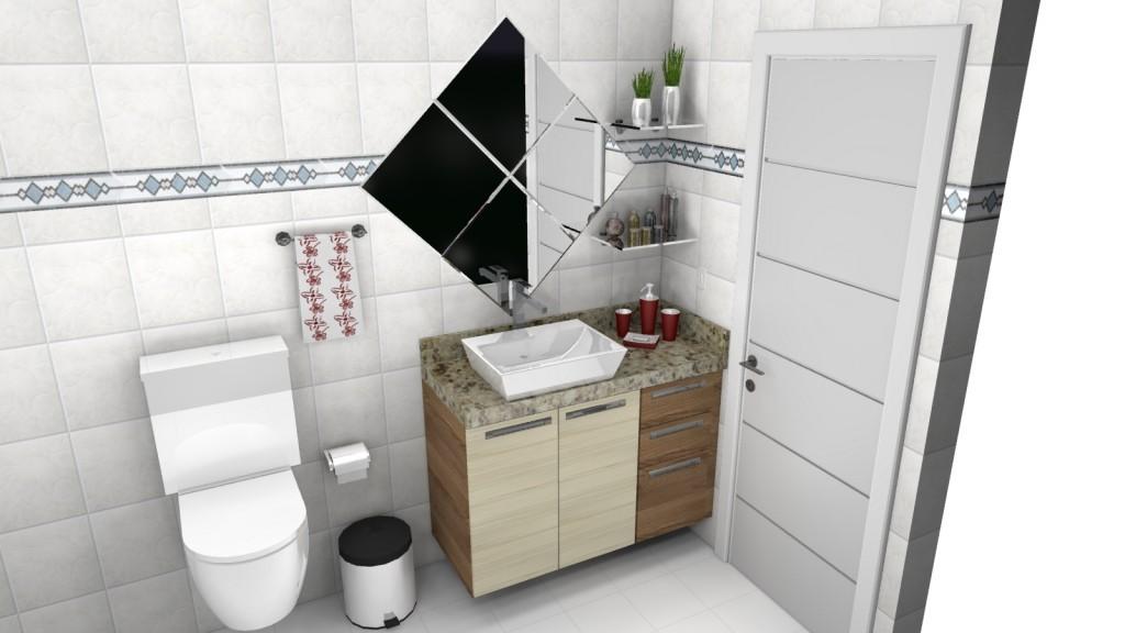 Banheiro planejado 126