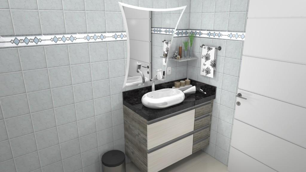 Banheiro planejado 127