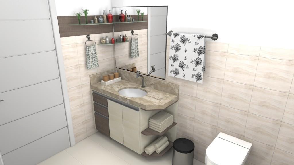 Banheiro planejado 128