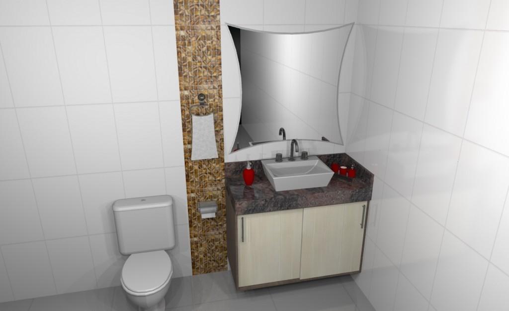 Banheiro planejado 129