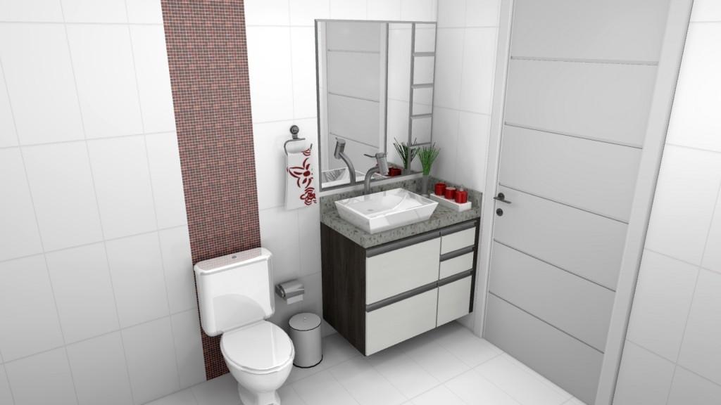 Banheiro planejado 130