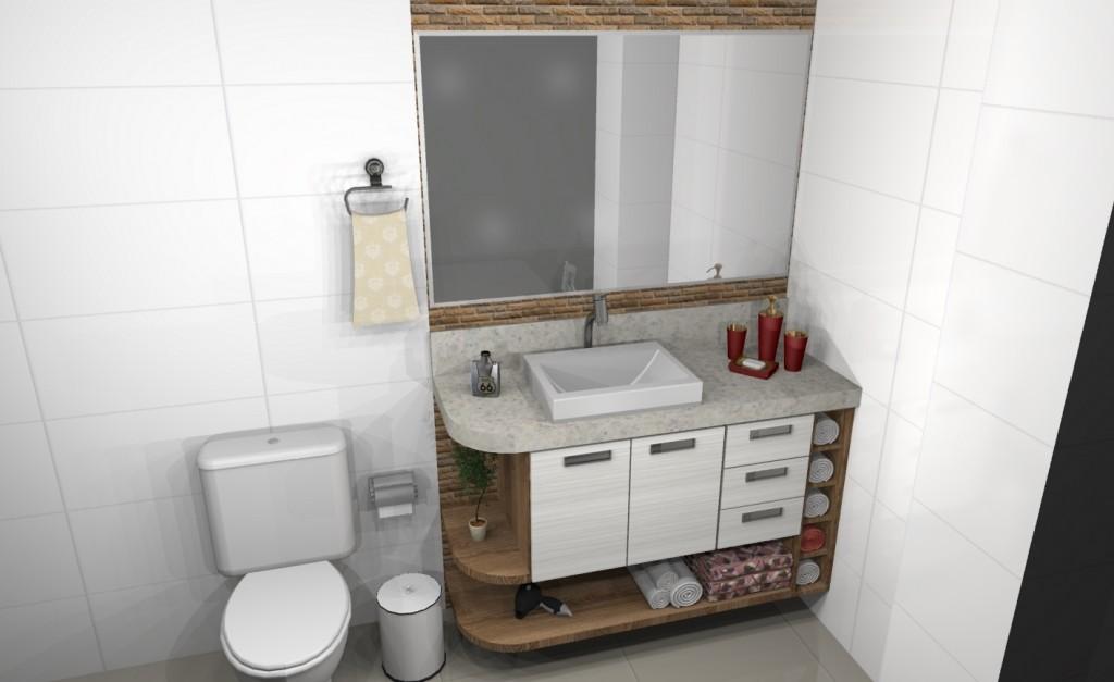 Banheiro planejado 131
