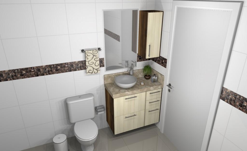 Banheiro planejado 132