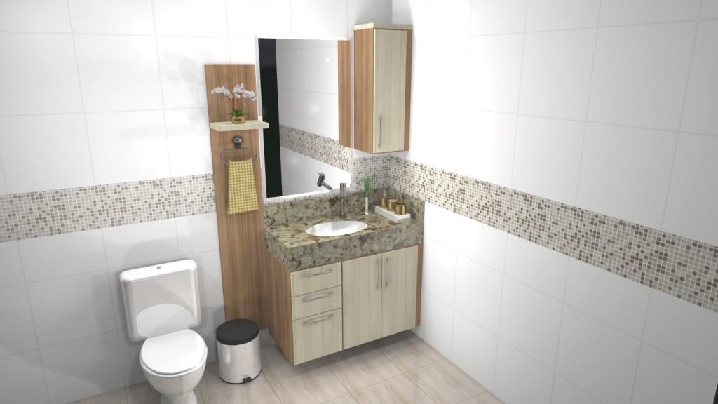 Banheiro planejado 133