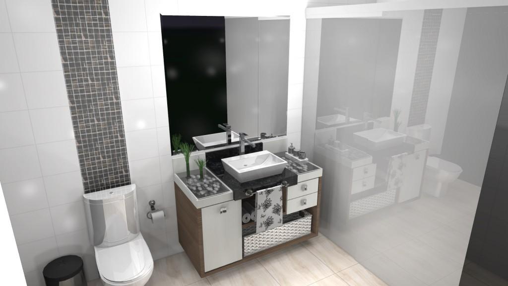 Banheiro planejado 134