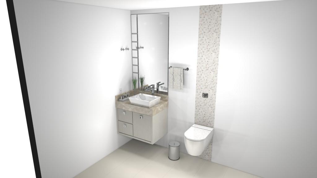 Banheiro planejado 135