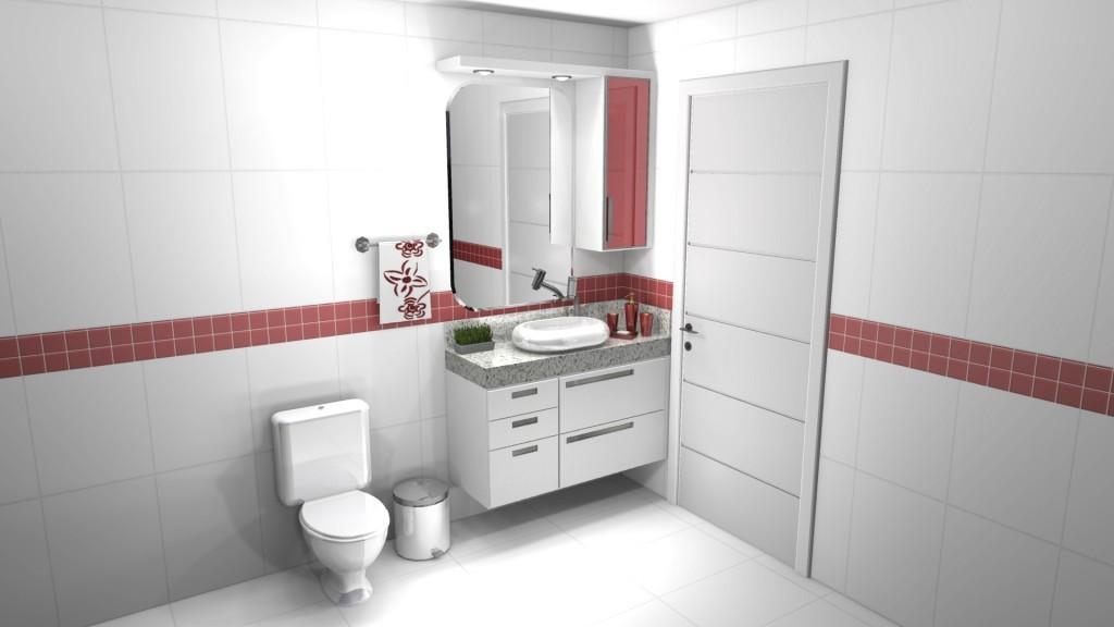 Banheiro planejado 136