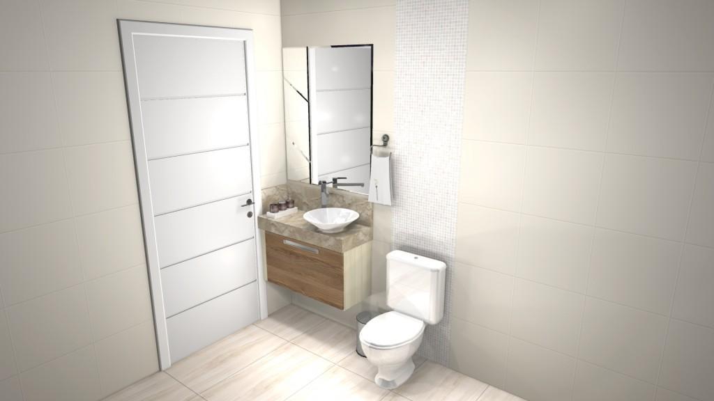Banheiro planejado 137