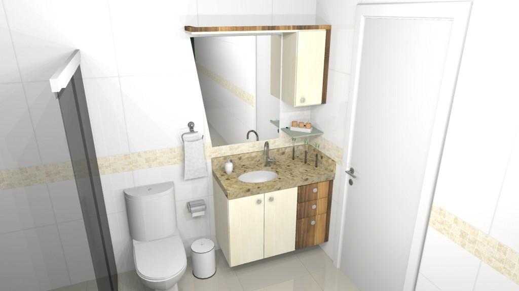 Banheiro planejado 138