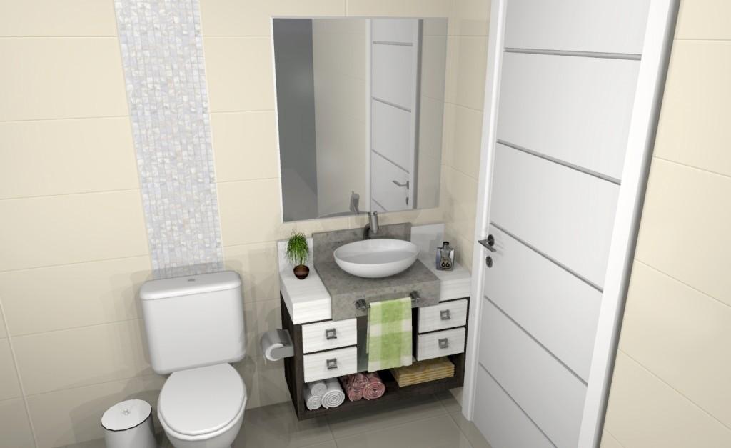 Banheiro planejado 140