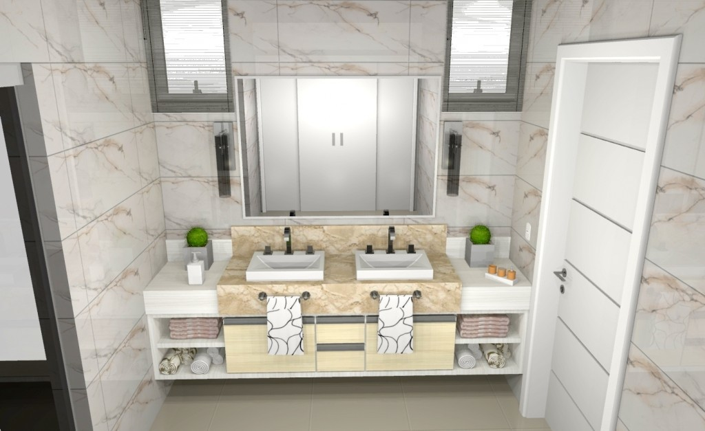 Banheiro planejado 141