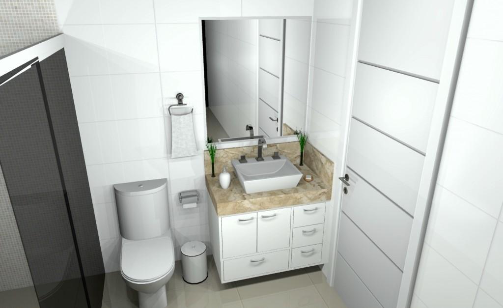 Banheiro planejado 142