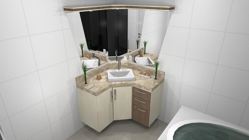 Banheiro planejado 143