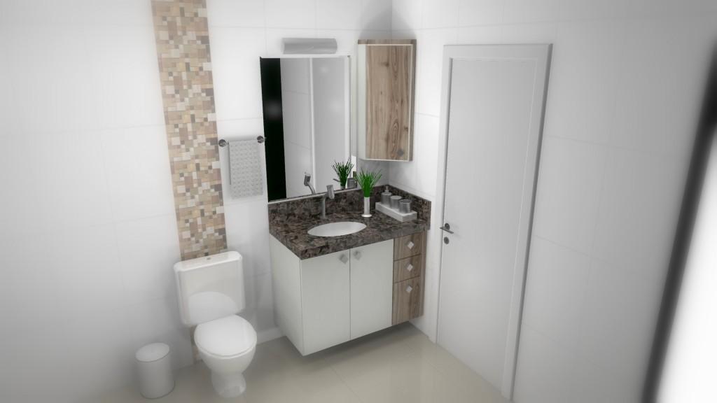 Banheiro planejado 145