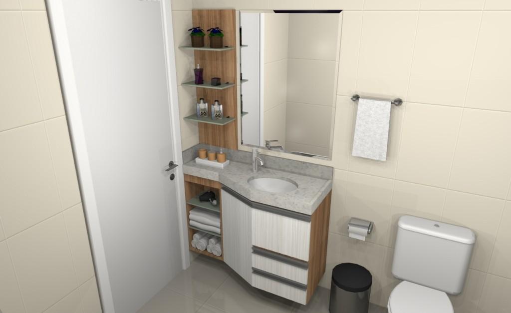 Banheiro planejado 147