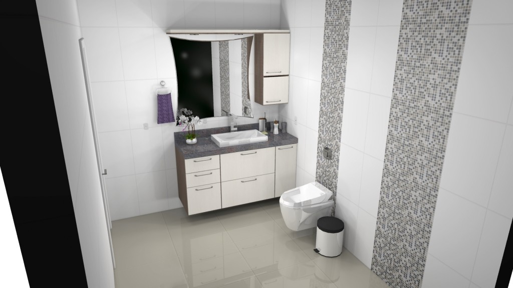 Banheiro planejado 148