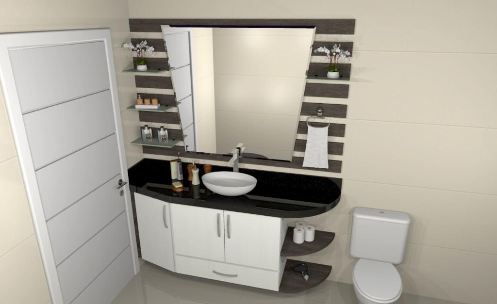 Banheiro planejado 149