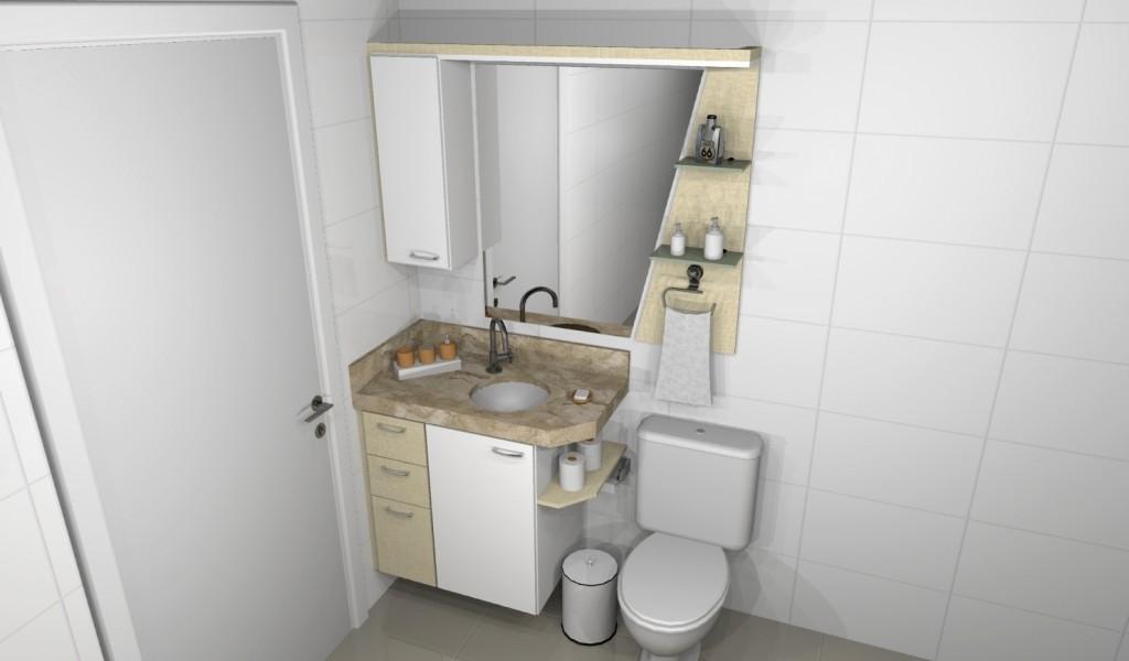 Banheiro planejado 150