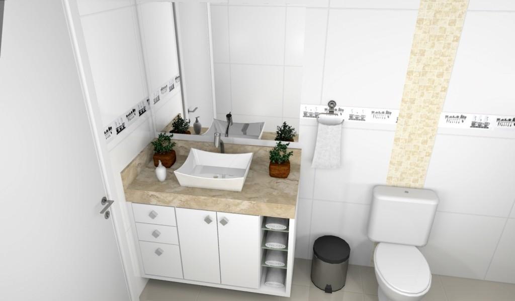 Banheiro planejado 151