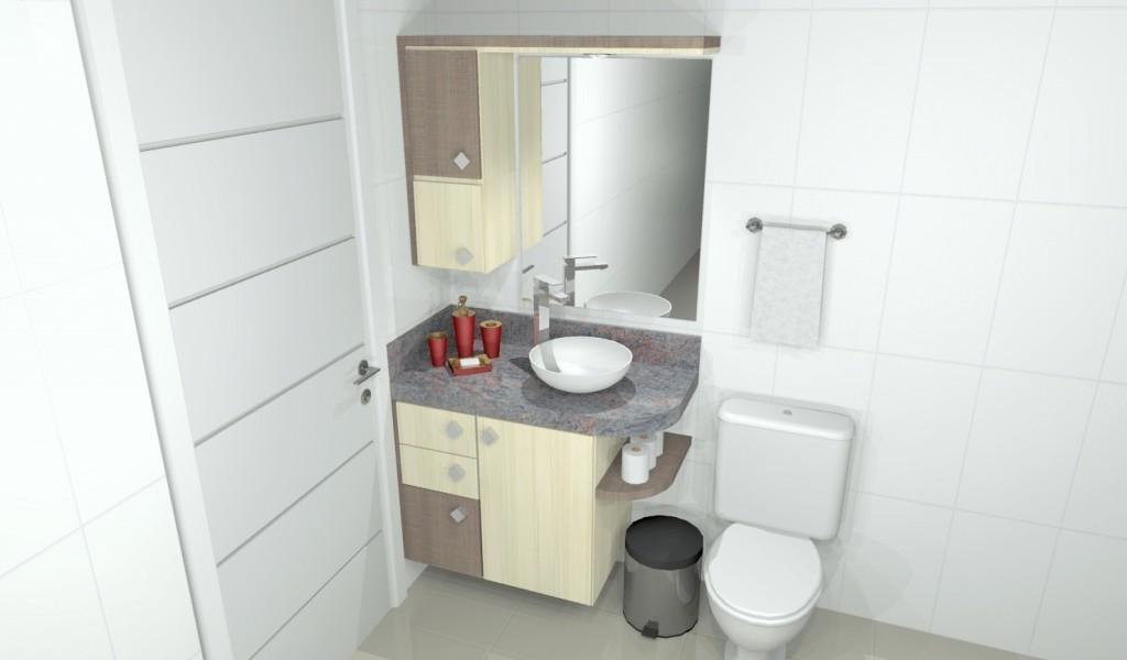 Banheiro planejado 152