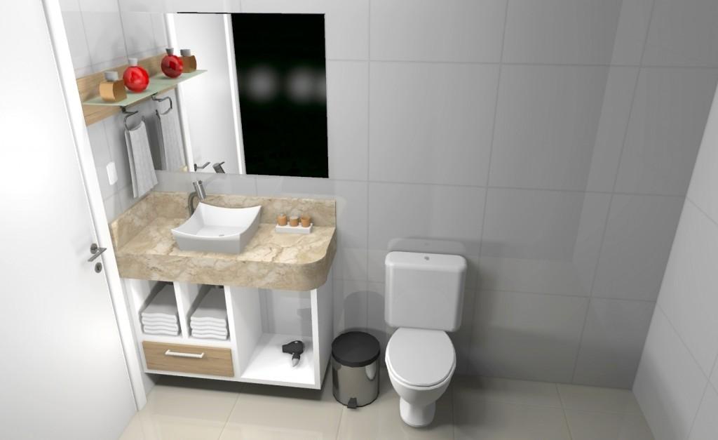 Banheiro planejado 153