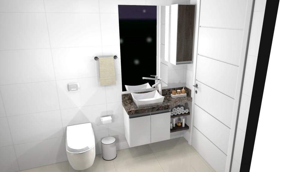 Banheiro planejado 154