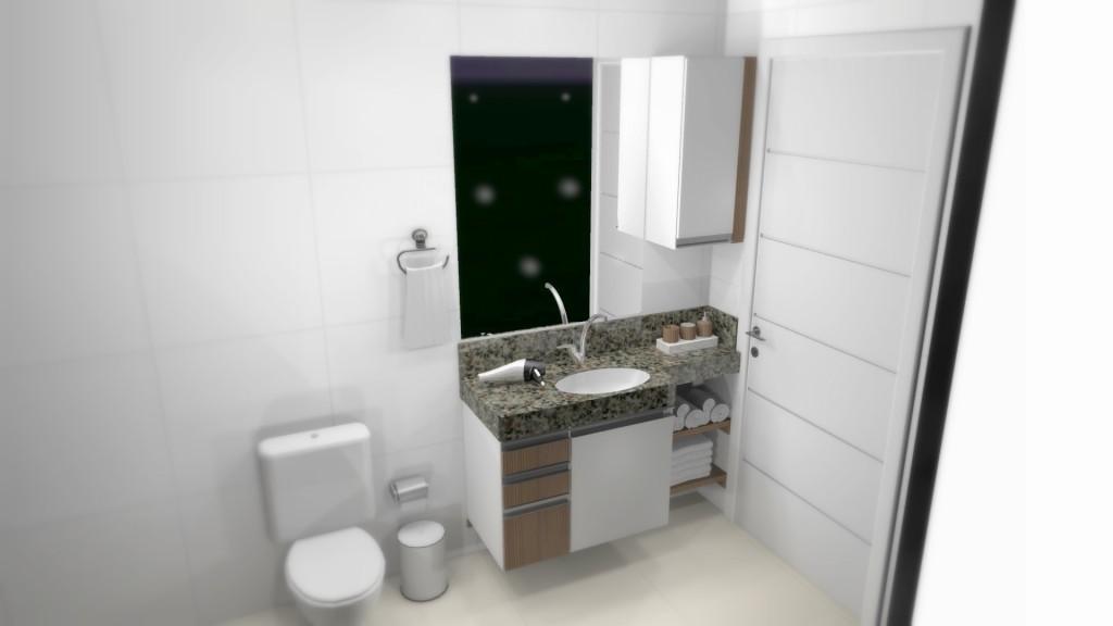 Banheiro planejado 155