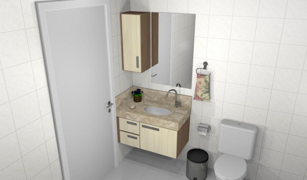 Banheiro planejado 157