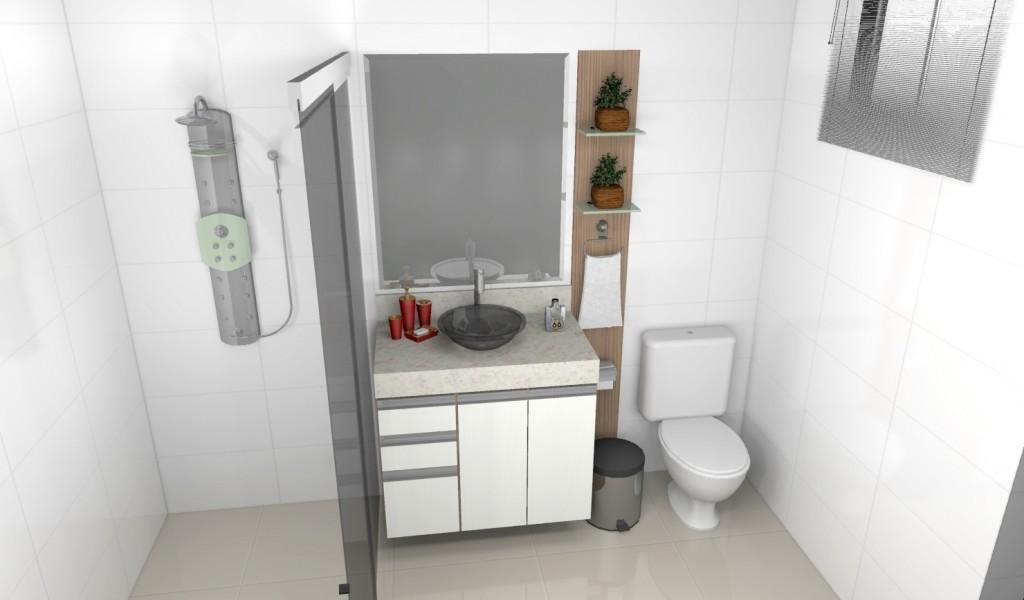 Banheiro planejado 158
