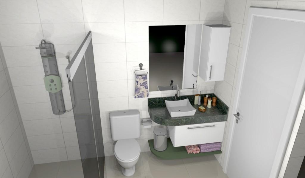 Banheiro planejado 159